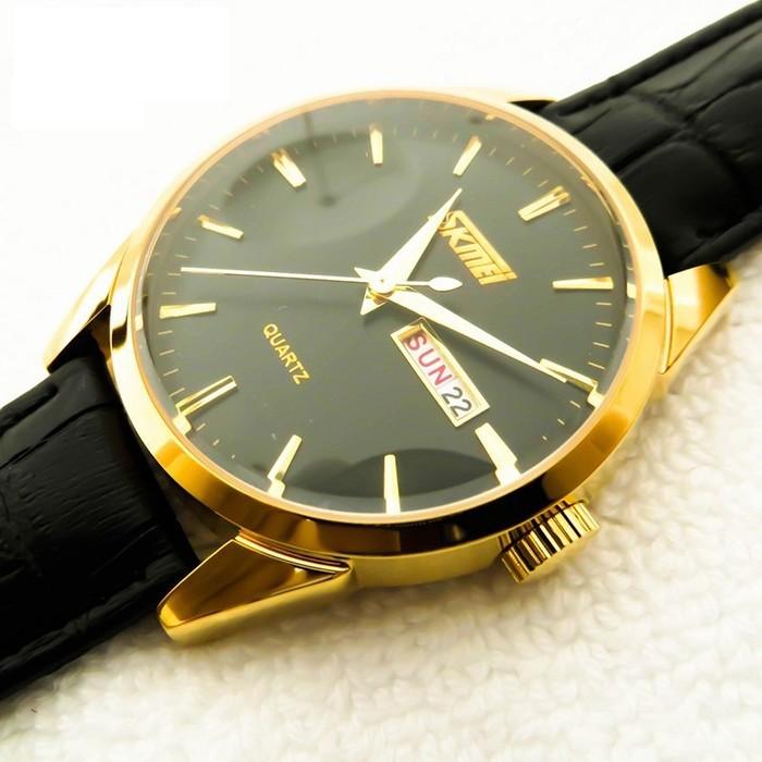 Đồng hồ dây da Skmei 9073