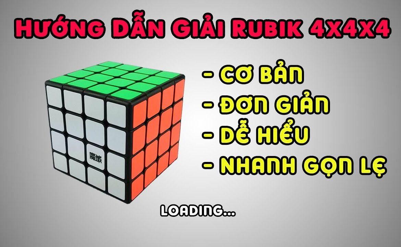 Hướng dan giải Rubik chi tiết nhất