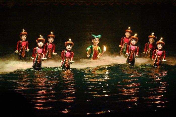 Thưởng thức nghệ thuật múa rối nước