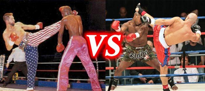 Phân biệt Muay Thai vs Kickboxing