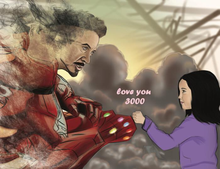 """Câu nói """"I love you 3000"""" rất nổi tiếng"""