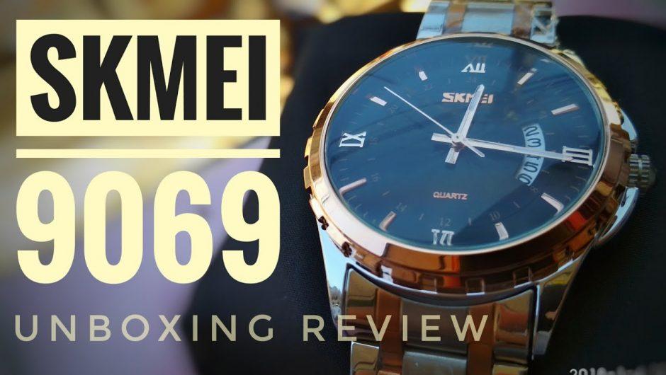 Đồng hồ Skmei 9069 dây hợp kim chống gỉ đáng mua nhất