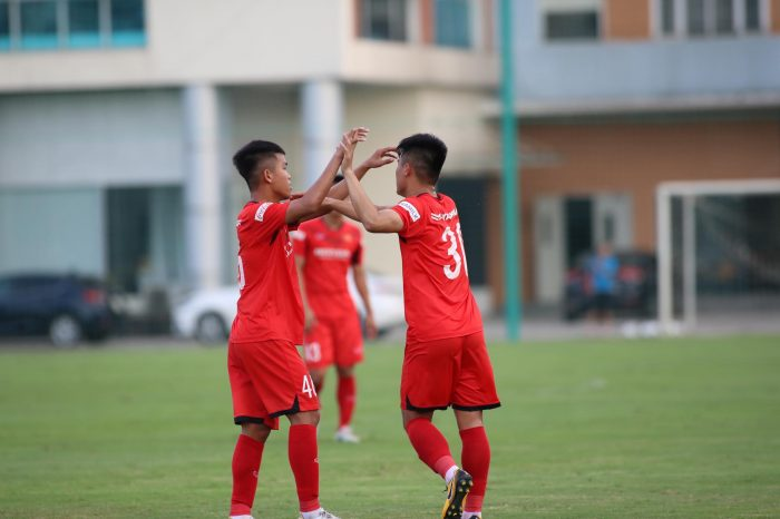 Cầu thủ Đặng Văn Lắm đã có những thể hiện tốt tại tuyển U22 Việt Nam