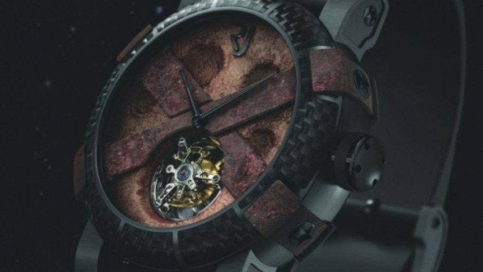 Siêu đồng hồ đắt tiền nhất thế giới – DNA Moon Dust Watch trị giá 45.000 USD