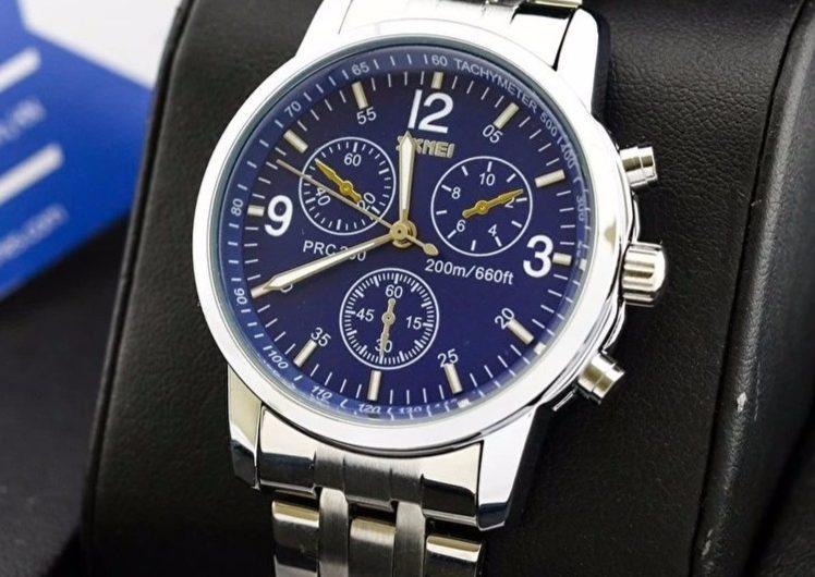 Đồng hồ nam Skmei 9070 chống nước cao cấp, giá tốt?