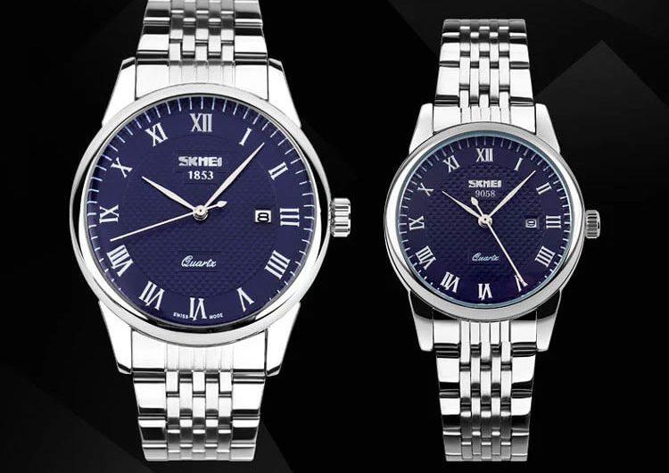Đồng hồ cặp nam nữ Skmei 9058