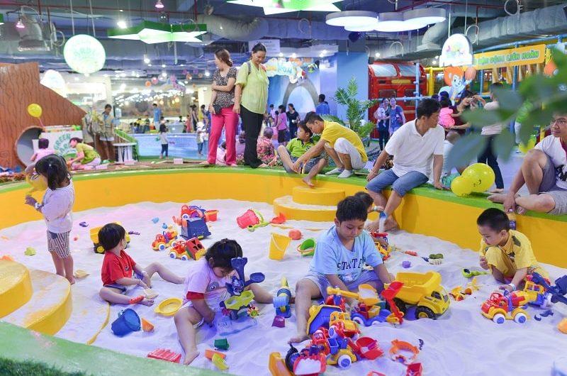 Bỏ túi ngay 5 khu vui chơi ở Sài Gòn cho các bé