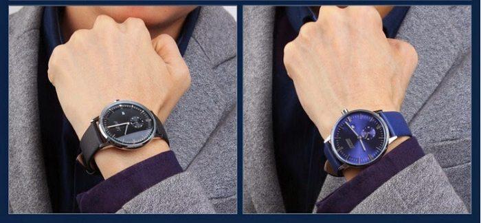 Đồng hồ nam Skmei 9083 dây da giá rẻ siêu chất lượng