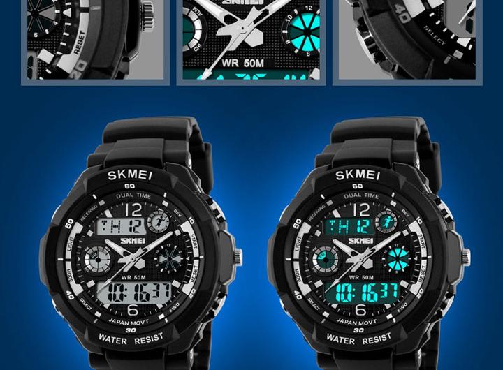 Đồng hồ Skmei 9031 thể thao S-shock phong cách, cá tính