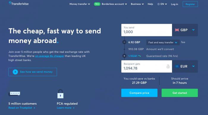 Chuyển tiền về Việt Nam qua TransferWise chi phí thấp