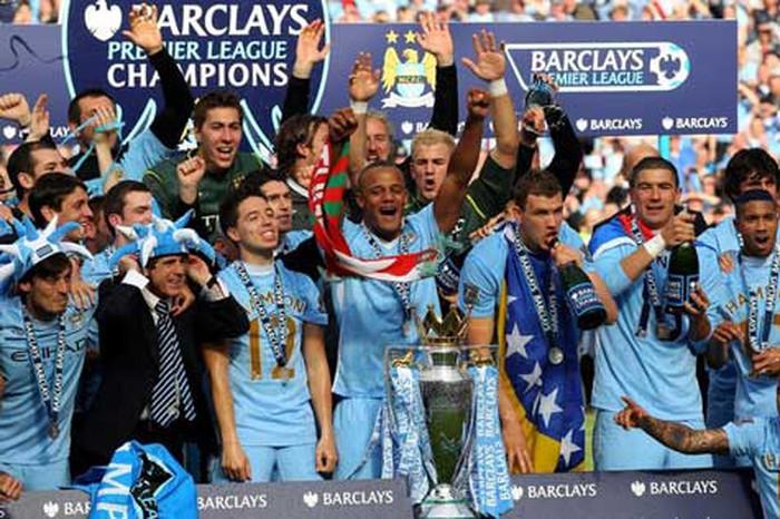 Khoản tiền thưởng cho nhà vô địch Ngoại hạng Anh cực lớn