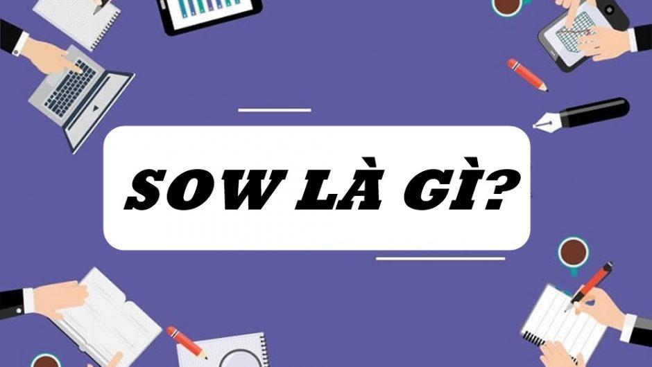 SOW là gì? Làm sao giúp SOW phát huy tốt các tính năng?