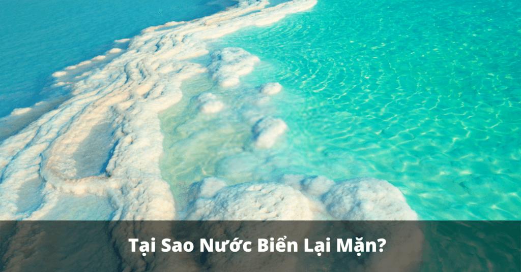 Giải đáp thắc mắc tại sao nước biển lại mặn