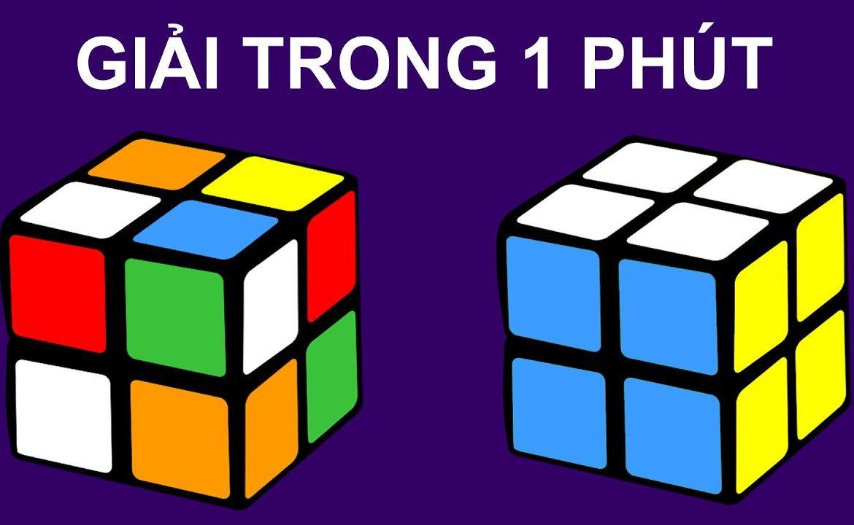 hướng dẫn giải Rubik 2x2 chi tiết nhất