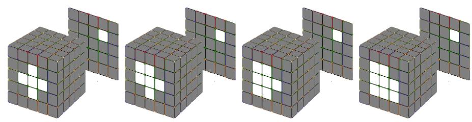 Hương dẫn hoàn thành mặt trung tậm Rubik 5x5