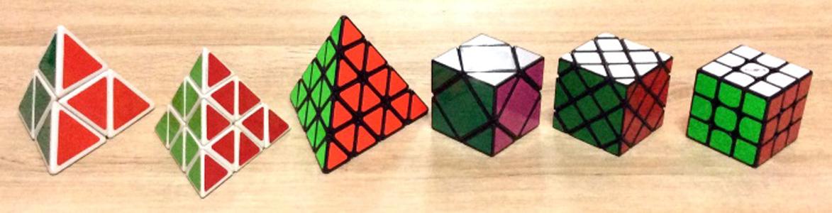 Tổng hợp các biến thể của Rubik Pyraminx