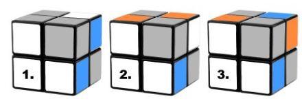 Các trường hợp Giải rubik 2x2