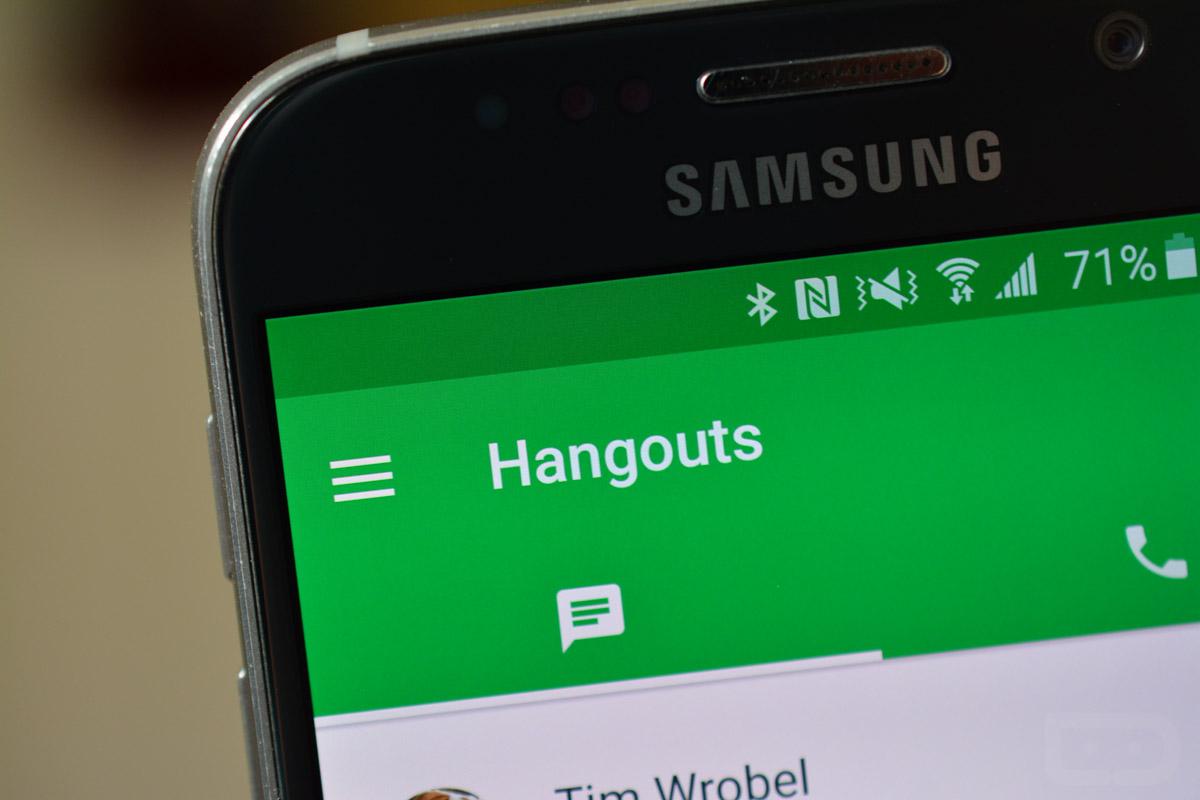 Cài đặt ngay Hangout trên điện thoại