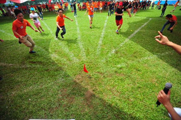 Sân chơi cần rộng rãi để thoải mái hoạt động